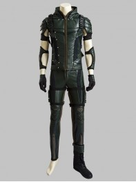 Deluxe Green Lantern Season 4 Oliver Queen Cosplay Costume