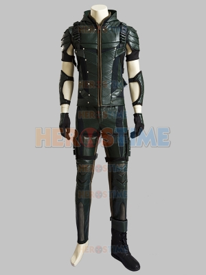Deluxe Green Lantern Season 4 Oliver Queen Cosplay Costume