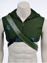 Green Arrow Hood and Arrow Carrier