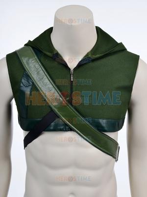 Green Arrow Hood and Arrow Carrier