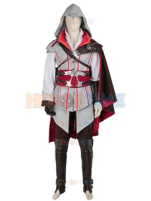 Assassin's Creed 2 Game Ezio Auditore AC2 Cosplay Costume