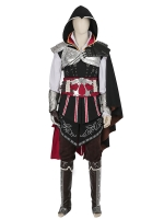 Assassin's Creed Ezio Mens Deluxe Cosplay Costume