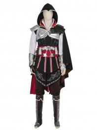 Assassin's Creed Ezio Mens Deluxe Cosplay Costume
