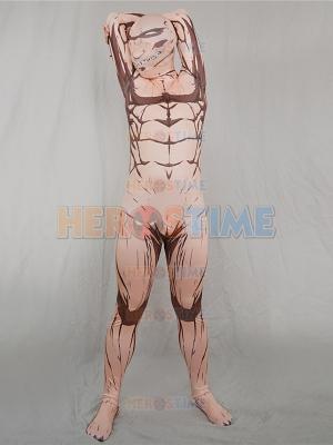 Attack on Titan Eren Yeager Titan Superhero Fullbody Suit