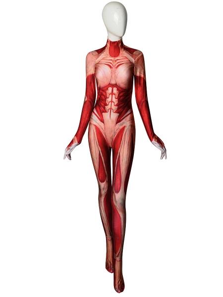 Attack on Titan Female Titan Annie Leonhart Costume