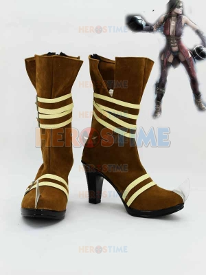 2099 Batman Harley Quinn High Heel Cosplay Boots