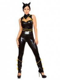 DC Comics Batgirl Sexy Metallic Superhero Costume