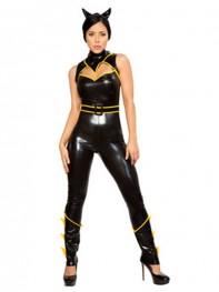 DC Comics Batgirl Sexy Metallic Superhero Costume
