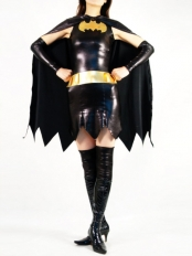 DC Comics Superheroine Batgirl Metallic Superhero Costume