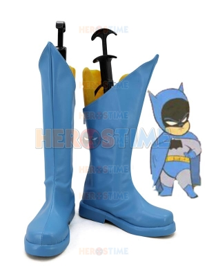 Classic Batman Blue Cosplay Boots