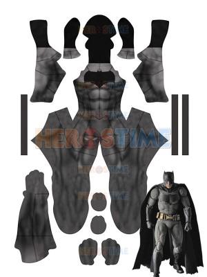 Classic Batman Dye-sub Printing No Mask Superhero Costume