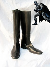 DC Comics Batman Black Long Cosplay Boots