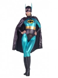 DC Comics Blue Batman Metallic Superhero Costume