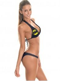 Ladies Batman DC Comics Superhero Halter String Bikini