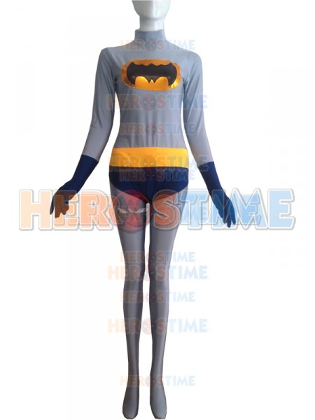 sc 1 st  Herostime.com & Navy Blue u0026 Grey Batman Superhero Costume