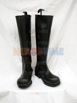Batman DC Comics Black Superhero Boots