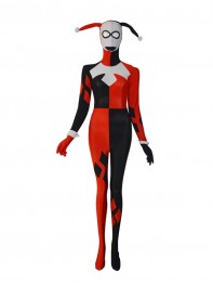 Batman Series Harley Quinn Female Superhero Costume