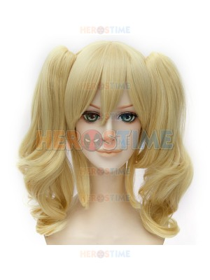 Batman Series Suicide Squad Harley Quinn Twin Tail Cosplay Wig