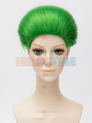 Batman Series Suicide Squad Joker Green Cosplay Wig