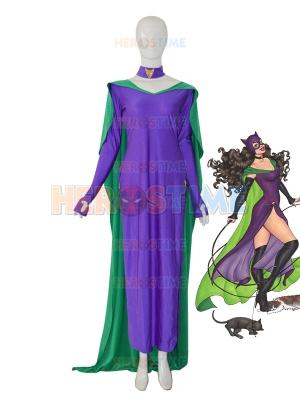 2014 New Style Catwomen Female Superhero Dress