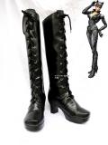 DC Comics Catwoman Black Superhero Boots