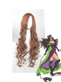 DC Comics Catwoman Brown 80CM Long Curly Wig