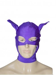 DC Comics Catwoman Purple Superhero Hood