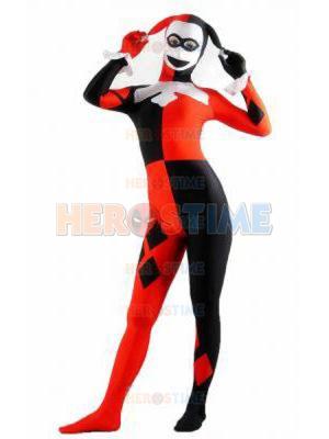 DC Comics Harley Quinn Spandex Costume