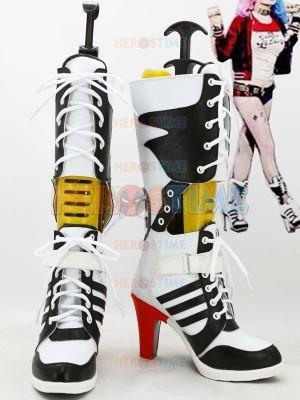 DC Comics Suicide Squad Harley Quinn Superhero Boots