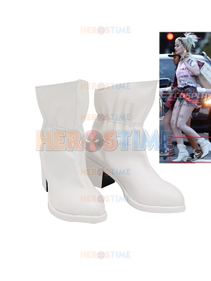 Birds of Prey Harley Quinn Halloween Cosplay Boots