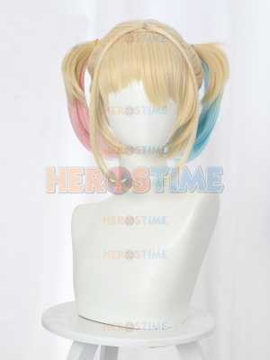 Birds of Prey Cosplay Harley Quinn Cosplay Wig