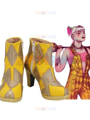 Birds of Prey Harley Quinn Cosplay Boots