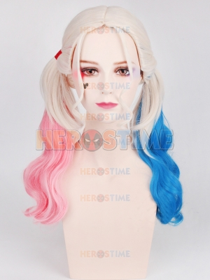 Suicide Squad Harley Quinn Cosplay Wig