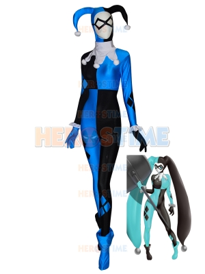 Harley Quinn Suit Batman Supervillain Halloween Costume