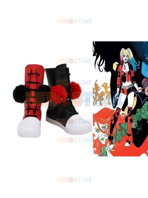 Harley Quinn Supervillain Cosplay Boots