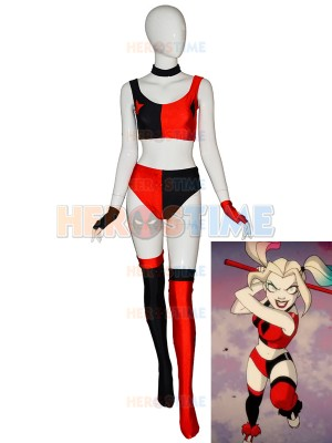 2019 Newest Harley Quinn Cosutme New 52 Harley Quinn Cosplay Suit