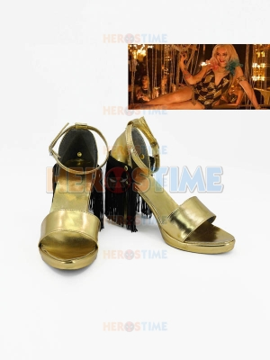 Harley Quinn Shoes Suicide Squad (Film) Cosplay Shoes