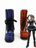 Red & Blue DC Comics Harley Quinn Cosplay Boots