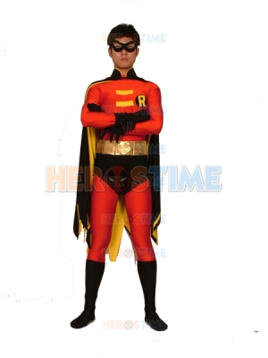 Batman Series Robin Spandex Superhero Costume