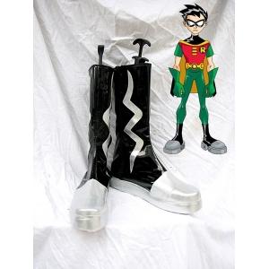 ec6cc300ea7d Batman Series Robin Teen Titans Cosplay Boots