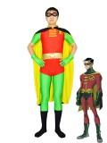 Batman Series Robin Tim Drake Version Spandex Superhero Costume
