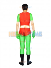 Batman Series Robin Tim Drake Version Spandex Superhero Costume