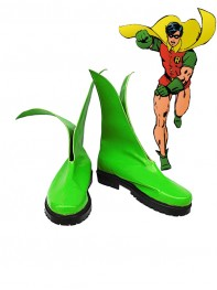 DC Comics Robin Jason Todd Version Cosplay Boots