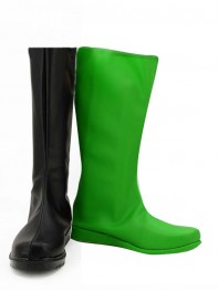 Shego Of Disney's Kim Possible Female Super Villain Boots