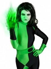 Shego Of  Kim Possible Female Super Villain Costume