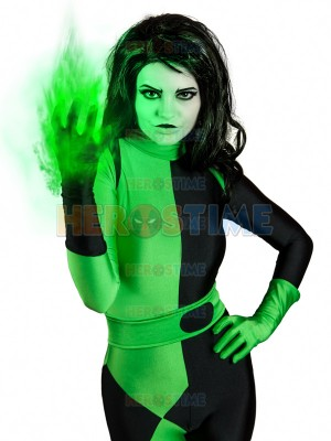 Shego Of  Kim Possible Female Super Villain Costume