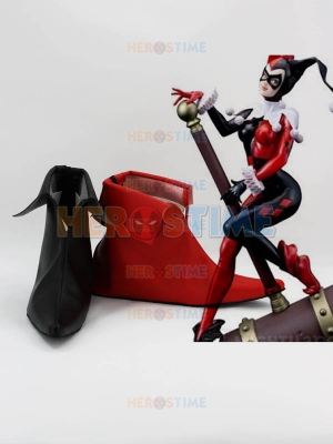 The Harley Quinn Batman Supervillain Cosplay Boots