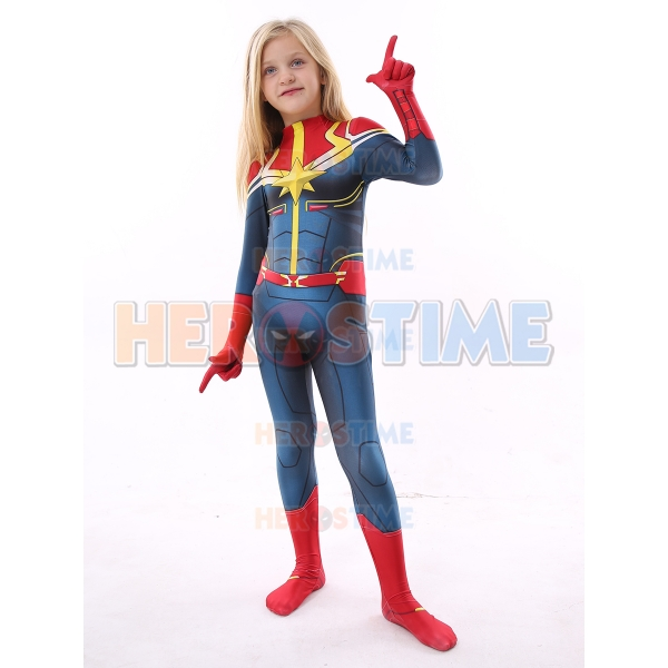 Kids Captain Marvel Costume Kid Halloween Costume Select size female xxs female xs female s female m female l female xl female xxl female source. kids captain marvel costume kid