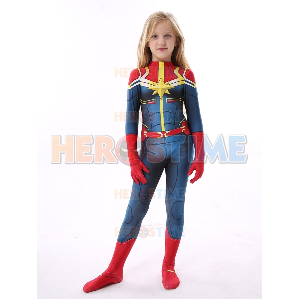 Kids Captain Marvel Costume Kid Halloween Costume Carol danvers is the over your fragile masculinity. kids captain marvel costume kid