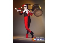 Classic Kids Harley Quinn Cosplay Superhero Costume